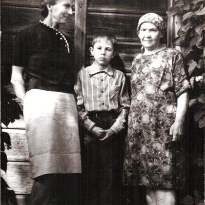 Rita, Mārtiņš un Vilma Delle