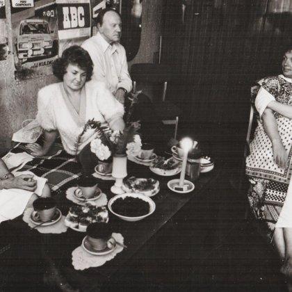 Talsu puses kultūras ļaudis (I.Kārkluvalka, Dz. Eglīte, A.Pelēcis, G.Blumberga)