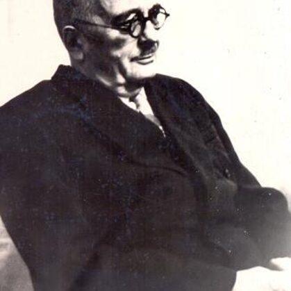 Voldemārs Ruģēns 1960. gados (foto no Talsu novada muzeja krājuma)